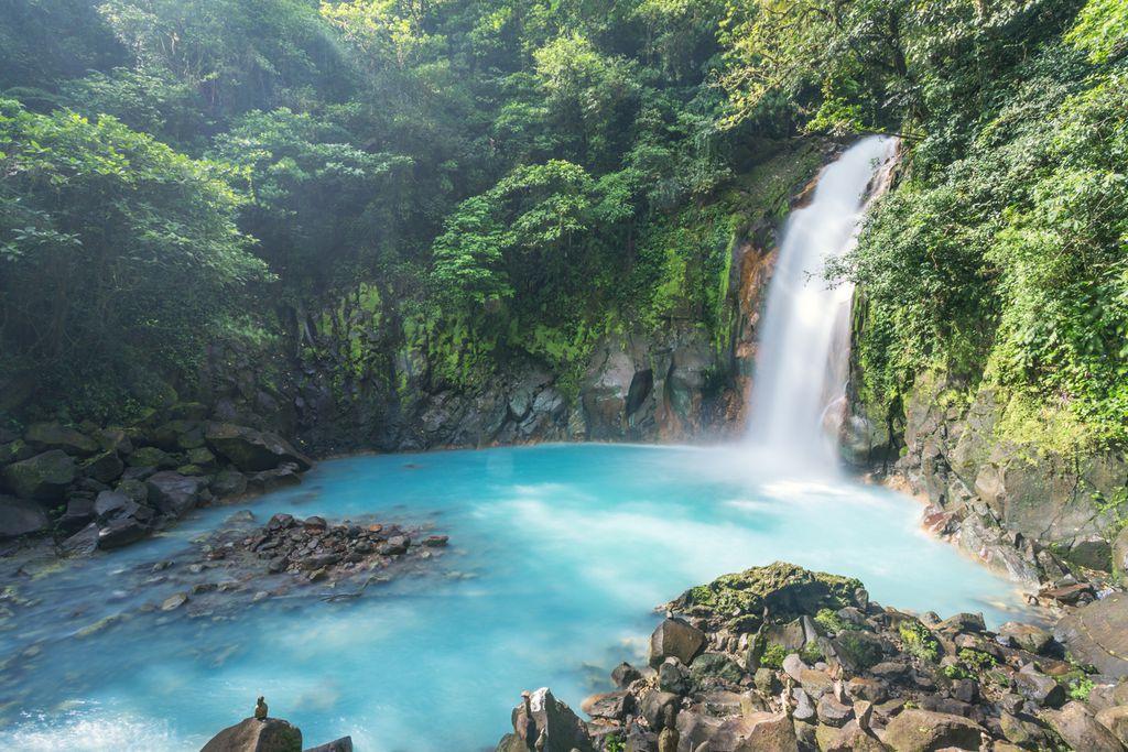 Rio Celeste Wasserfall