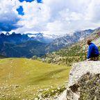 Genusswandern in den Alpen - quer durch die italienischen Dolomiten.
