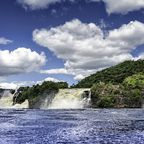 Wasserfall im Nationalpark Canaima