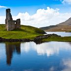 Ruine in Sutherland