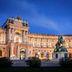 Wiener Hofburg am Abend