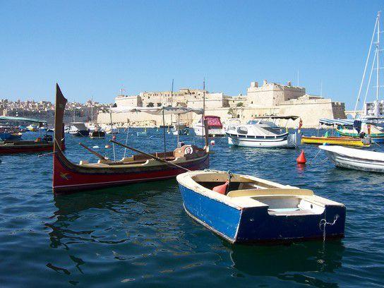 Malta - Hafen von Senglea