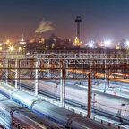 Die längste Bahnstrecke in Europa führt von Moskau nach Nizza