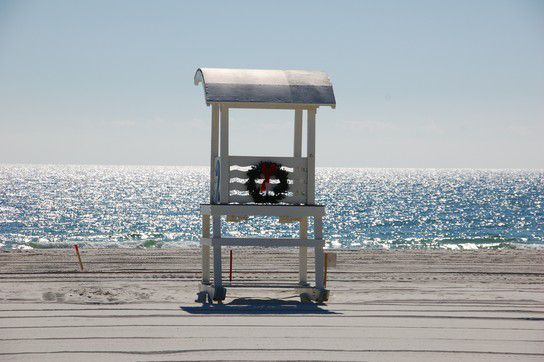 Weihnachten am Golf von Mexico