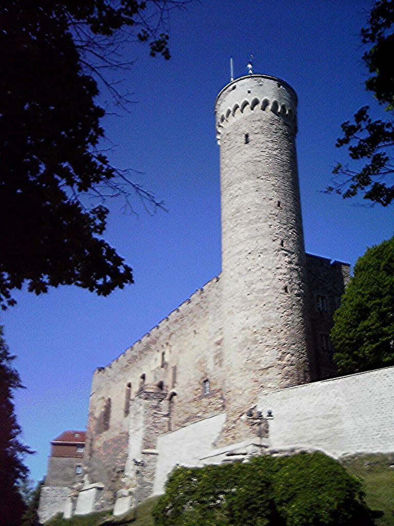 """Wehrturm """"Langer Hermann"""" auf der Burg Tallinn"""