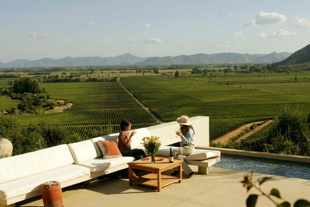 Casa Lapostolle in der Weinregion