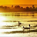 Abendstimmung auf dem Nil