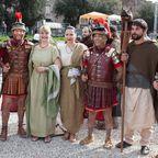 Beim jährlichen Festival anlässlich der Geburt Roms verkleiden sich dutzende Schauspieler als antike Römer