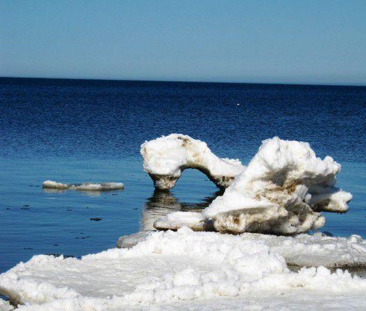 Ostsee - Eisschollen