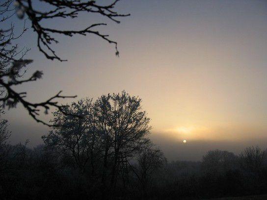 Sonnenuntergang in Heidenheim