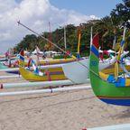 Bunt, bunter, Balis Boote