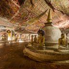 Die Tempel von Dambulla gehören seit 1991 zum Weltkulturerbe der UNESCO