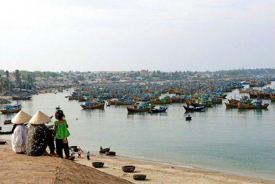 Mui Ne Fischereihafen