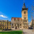 Das Neue Rathaus in der Neustadt