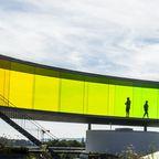 """""""Your rainbow panorama"""" auf dem Dach von ARoS Aarhus Kunstmuseum"""