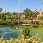 Brunnen in den Gärten Palazzo Parisio in Naxxar