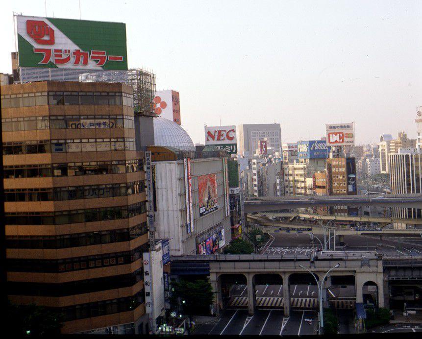 Shibuya-Crossing am Tage