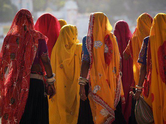 Inderinnen in Pushkar