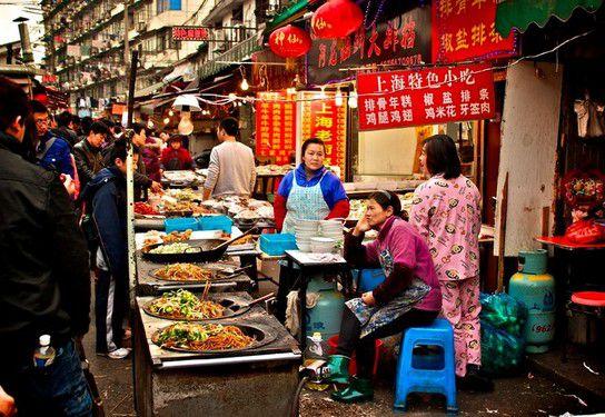 Die echte Altstadt in Shanghai