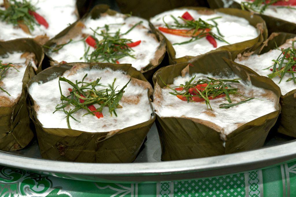 Amok, ein traditionelles Essen