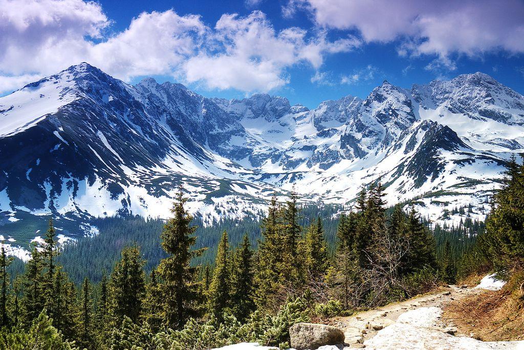 Gipfel des Tatra-Gebirges
