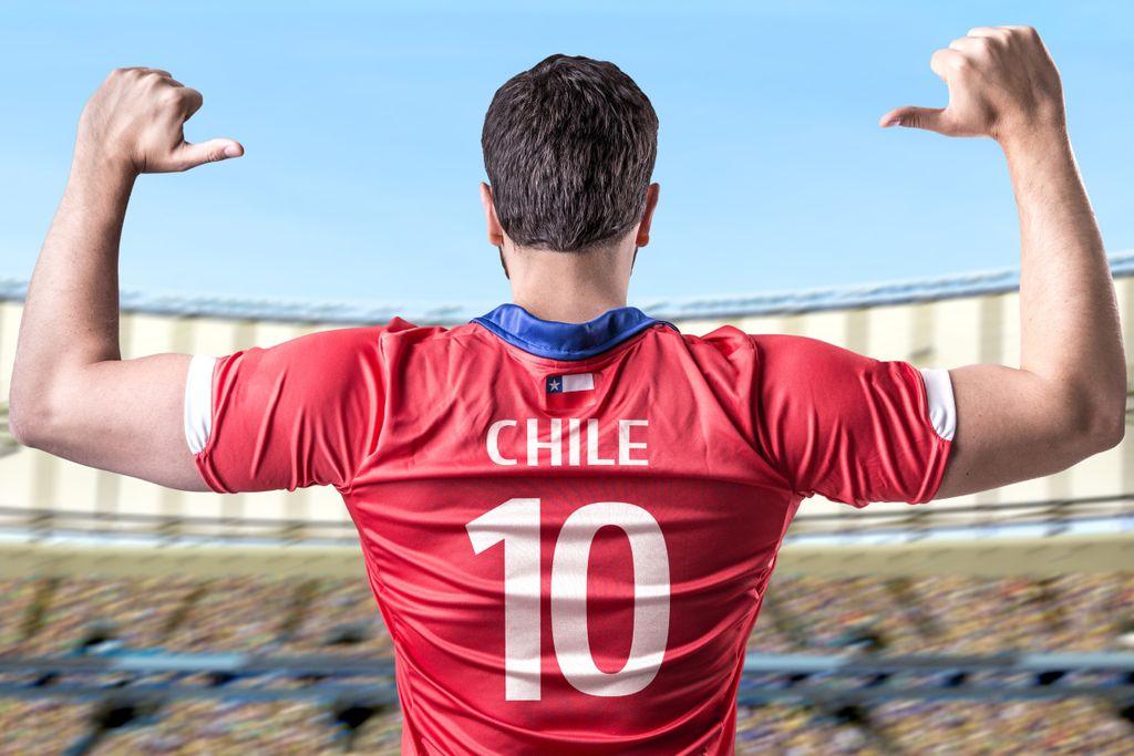 FIFA-Weltrangliste, Platz 10: Chile