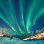 Wer braucht Sonne, wenn es das Polarlicht gibt?