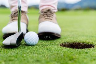 Golfspielen in Sizilien