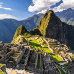 Die peruanische Inkastadt Machu Picchu