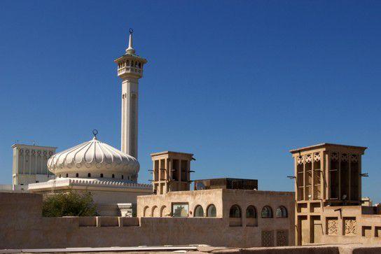 Arabische Architektur in Bastakiya
